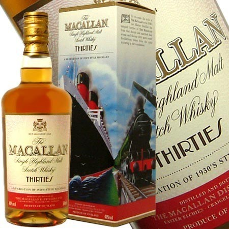 Whisky The Macallan Thirties
