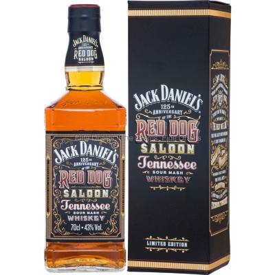 Whisky Jack Daniels Red Dog Saloon