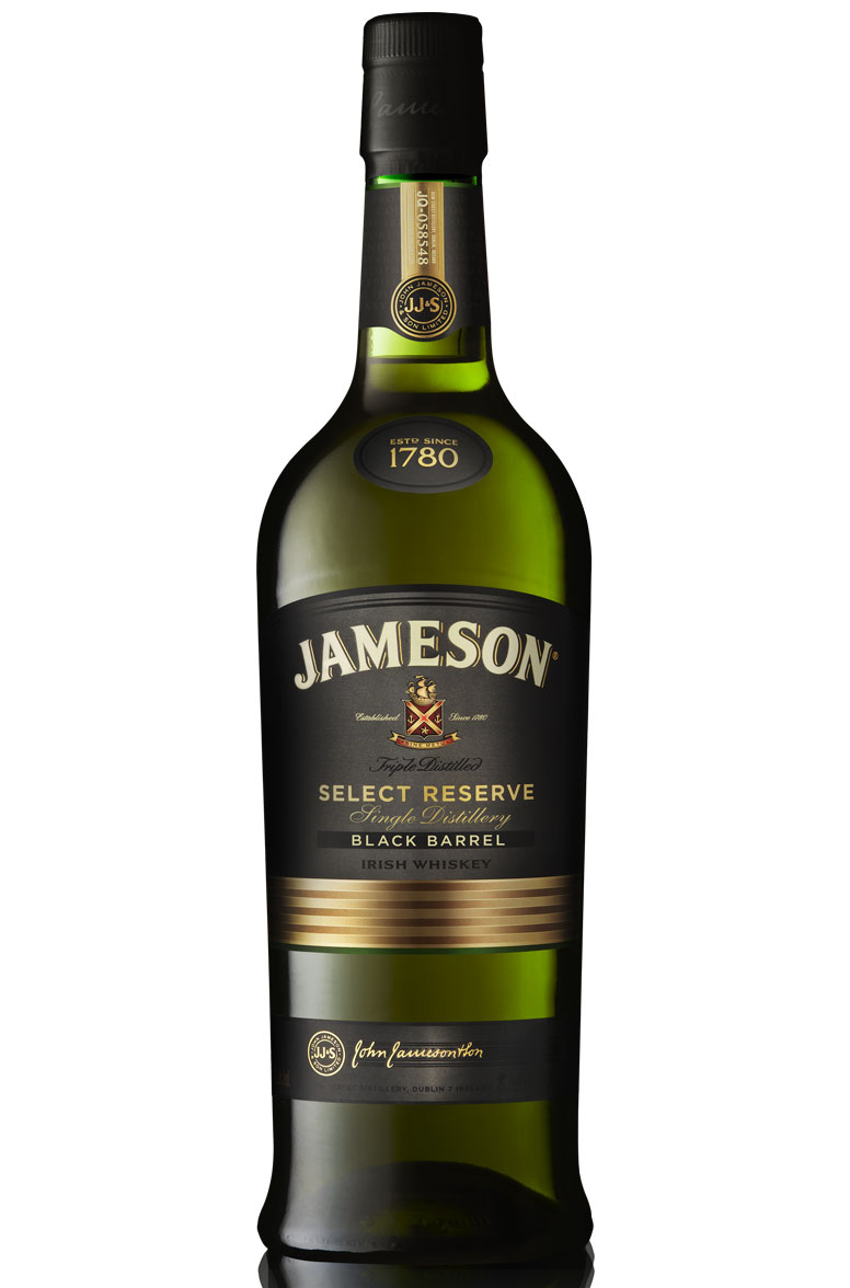 jameson 12 years select reserve 1780 black barrel smartbites. Black Bedroom Furniture Sets. Home Design Ideas
