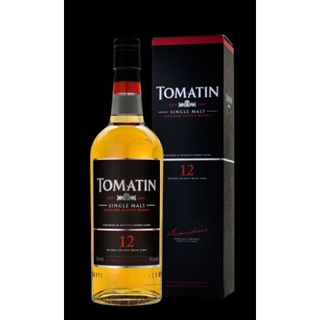 Whisky Tomatin Single Malt 12 años