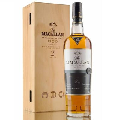 The Macallan 21 Fine Oak years