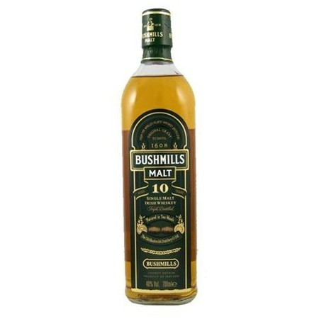 Whisky Bushmills 10 años Irish Malt