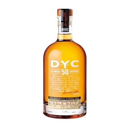 Whisky DYC Single Malt Edición 50 Aniversario