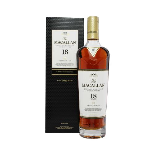Whisky The Macallan 18 years Sherry Oak 2019