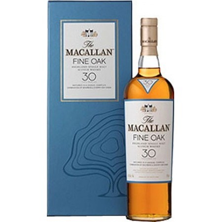Whisky Macallan 30 años Fine Oak
