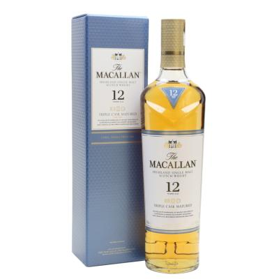 Whisky Macallan 12 años Fine Oak Triple Cask