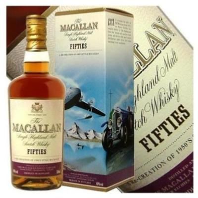 Whisky The Macallan Fifties